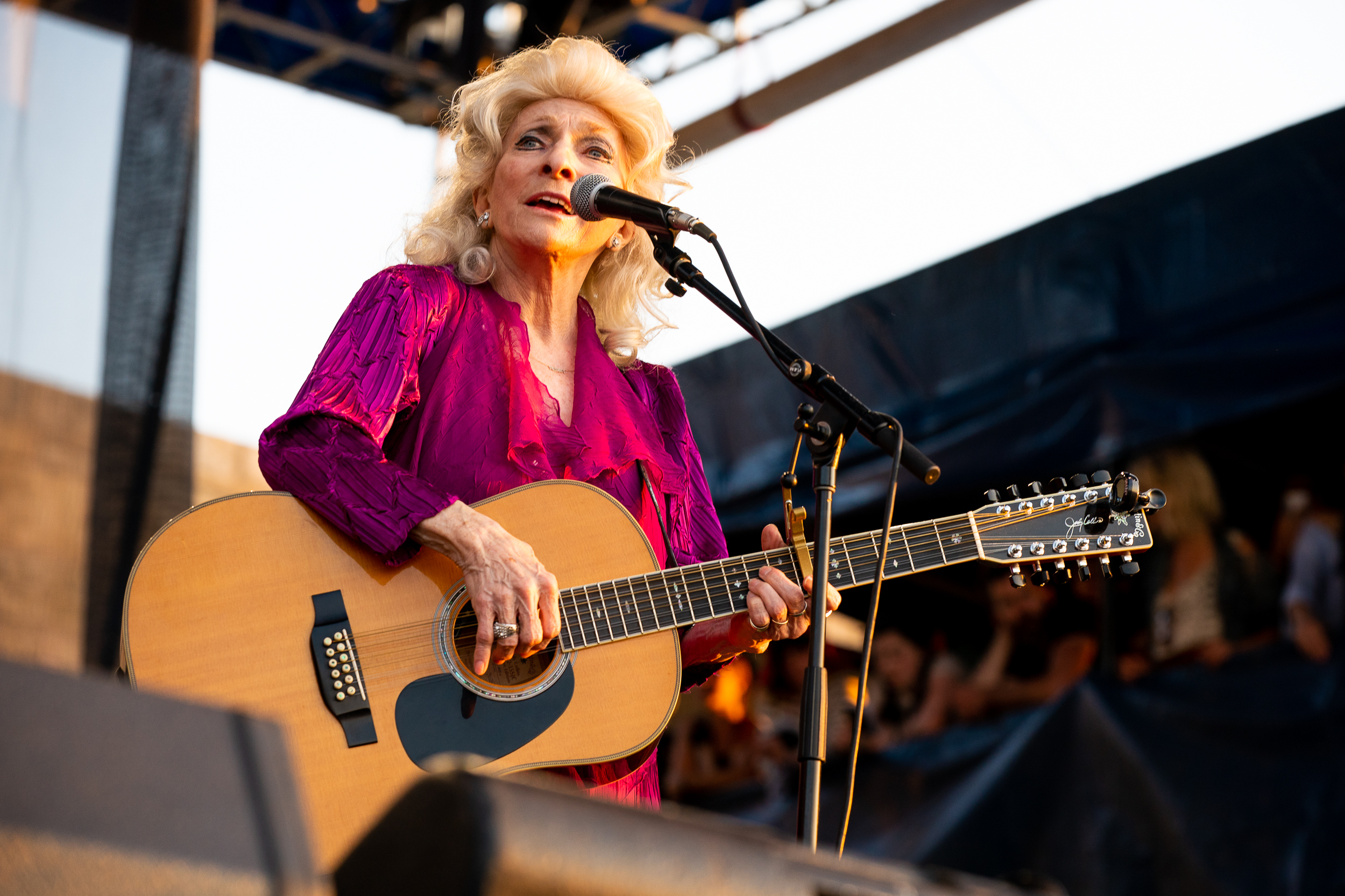 Judy Collins at Newport Folk Festival (Photo by Mauricio Castro)
