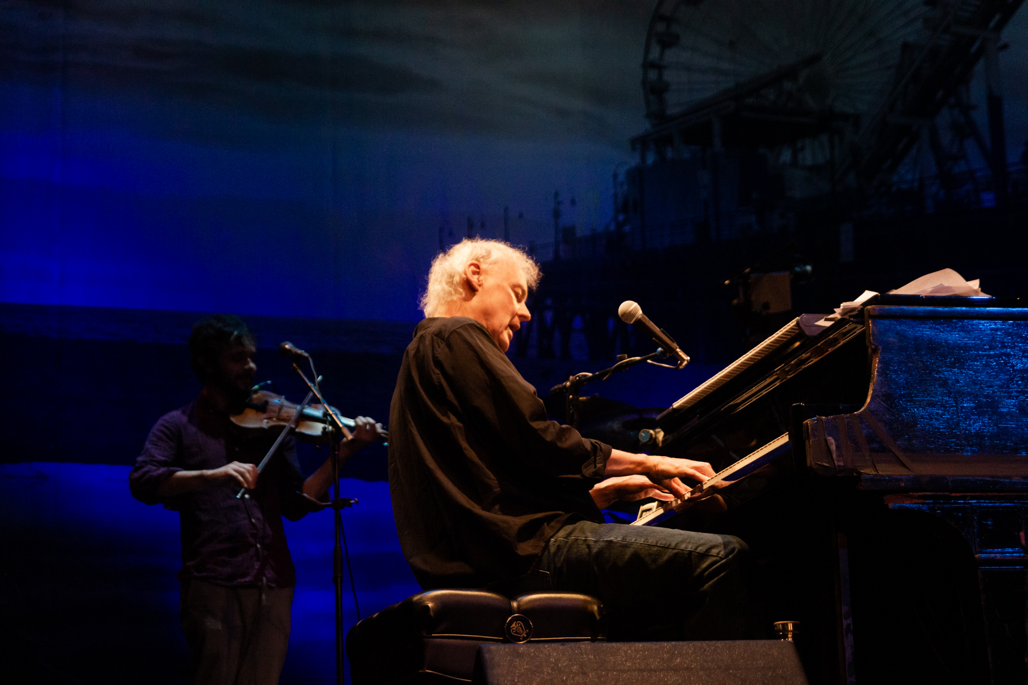 Bruce Hornsby performing at Pabst Theater in Milwaukee, WI - 8/7/19 (Photo - Kevin Hill)