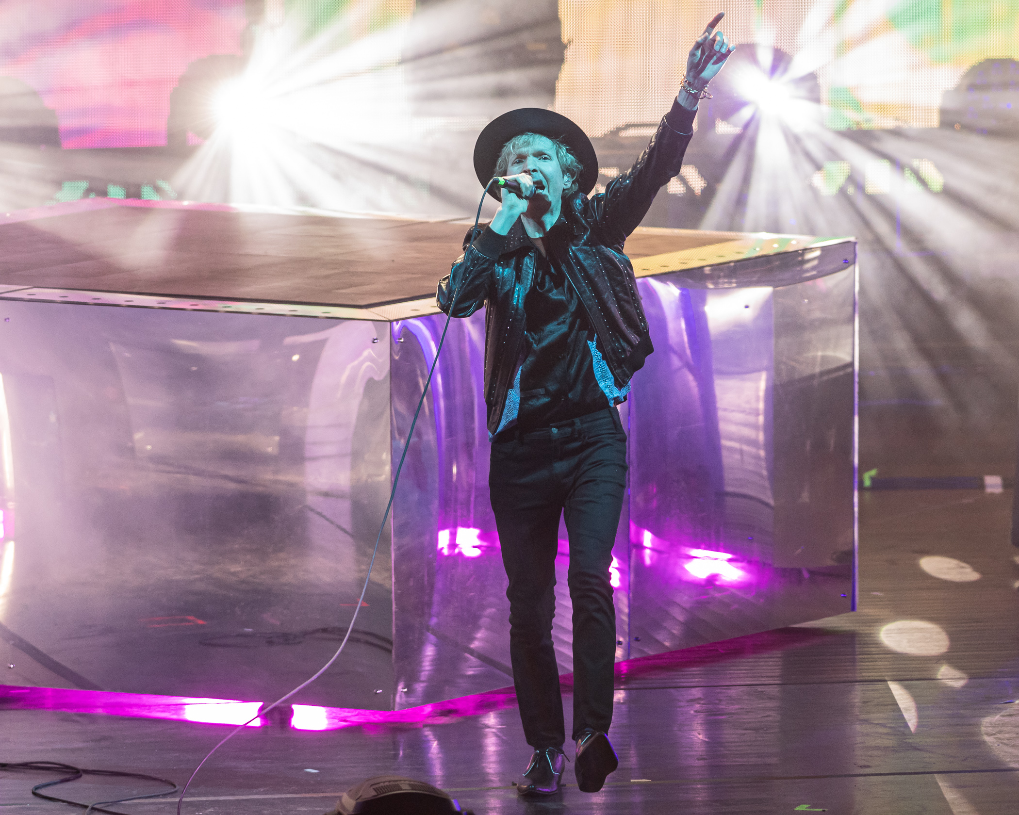 Beck Performs at Merriweather Post Pavilion