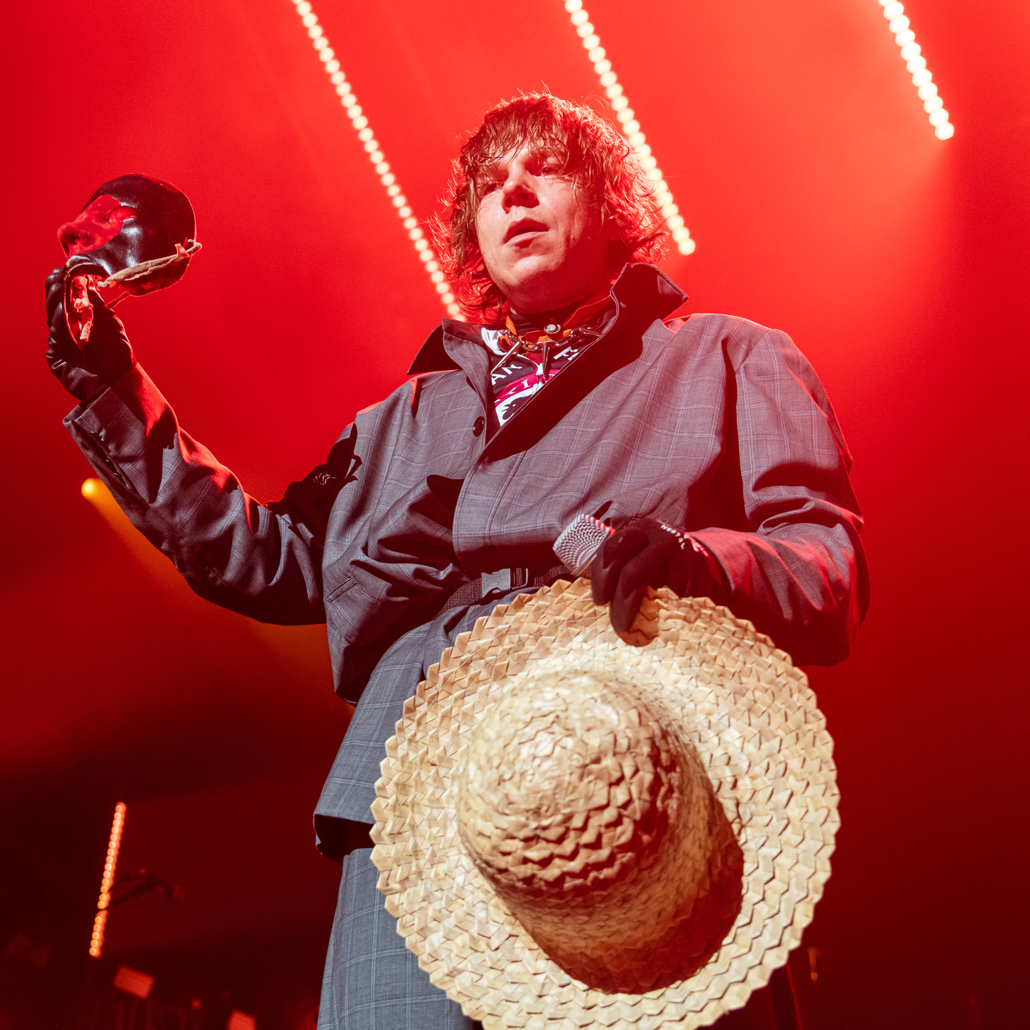 Cage The Elephant Performs at Merriweather Post Pavilion