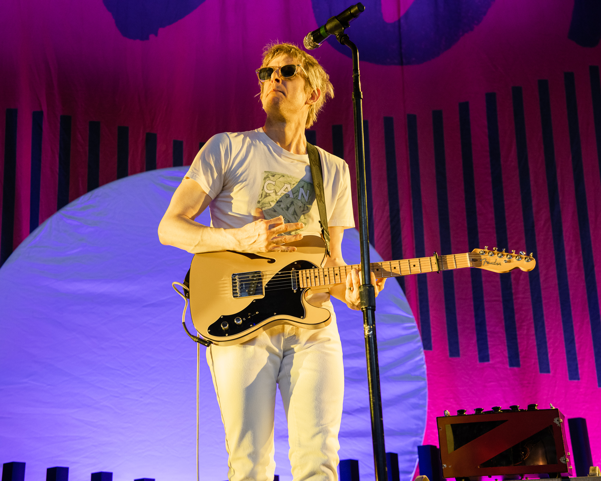Spoon Performs at Merriweather Post Pavilion