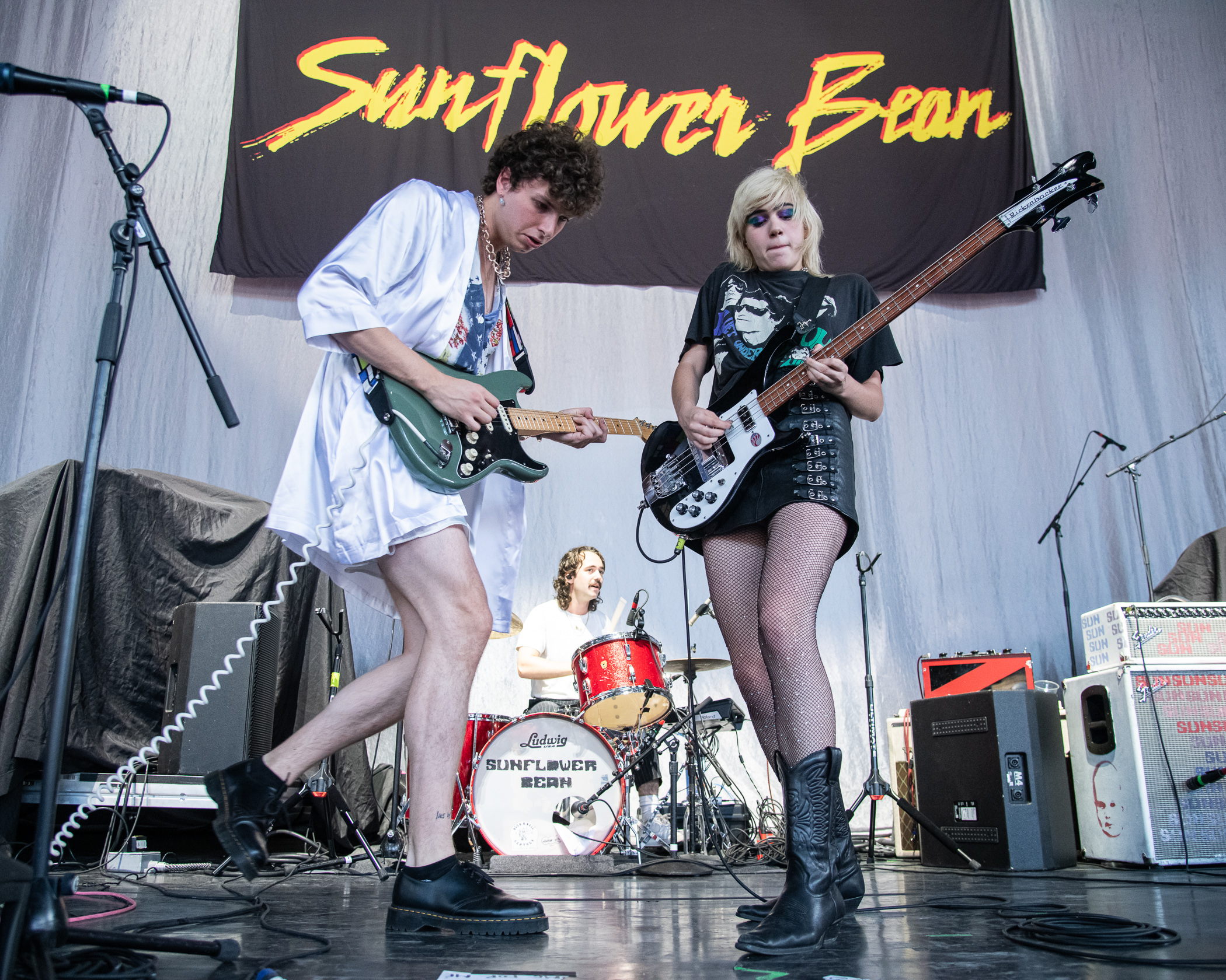 Sunflower Bean Performs at Merriweather Post Pavilion