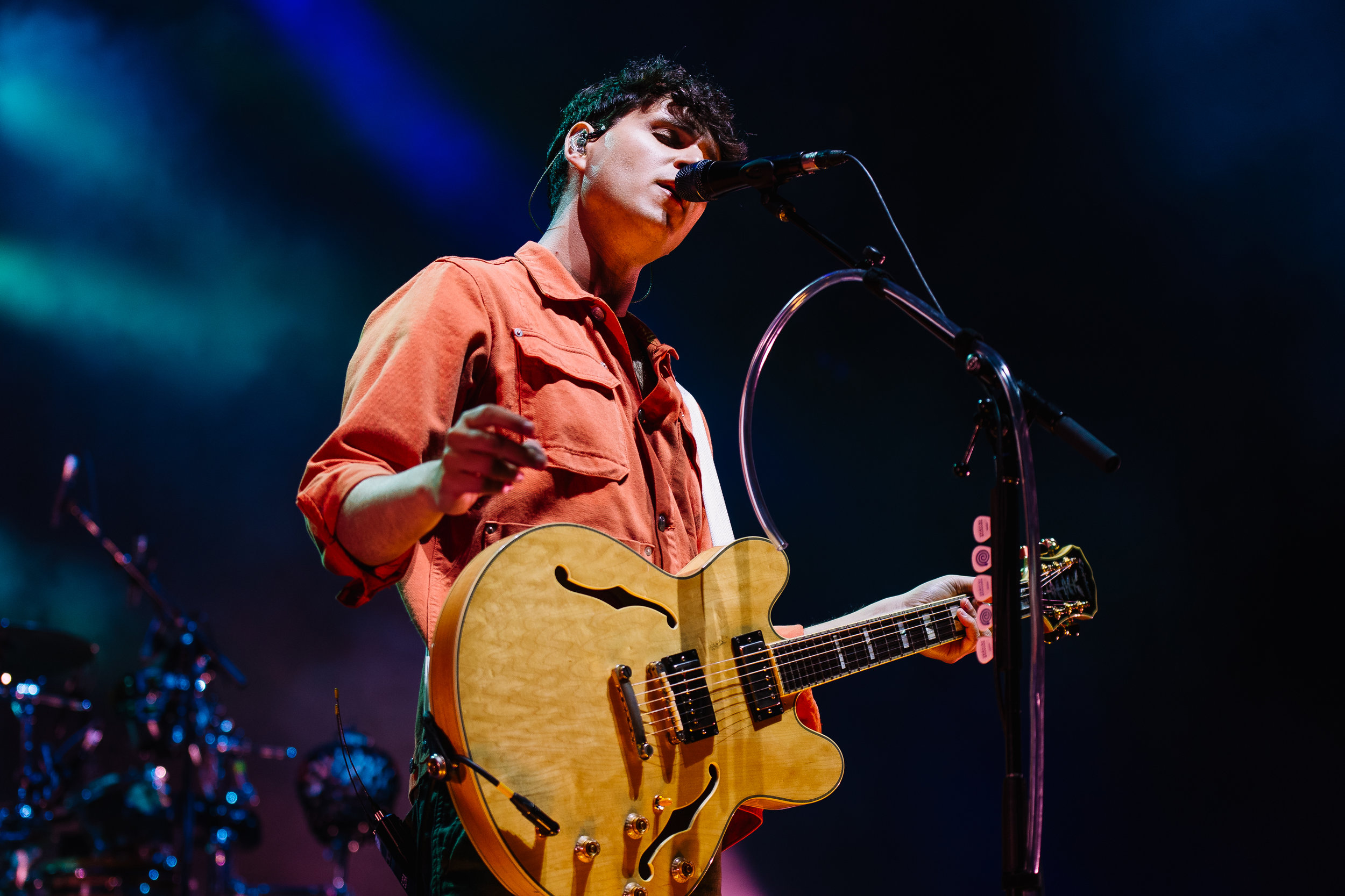 Vampire Weekend at Merriweather Post Pavilion (Photo by Mauricio Castro)