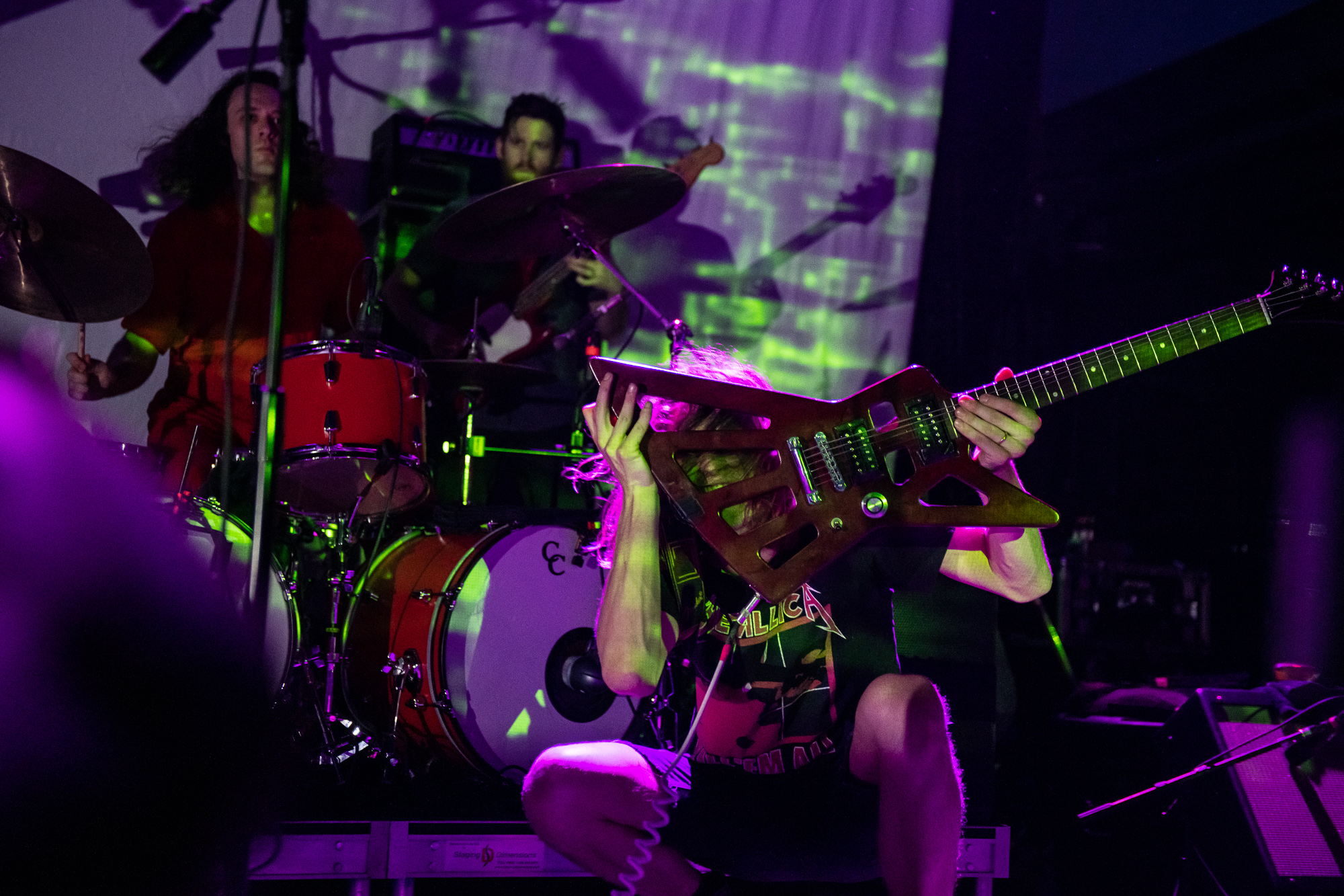 King Gizzard and the Lizard Wizard perform at the 9:30 Club in Washington, D.C.