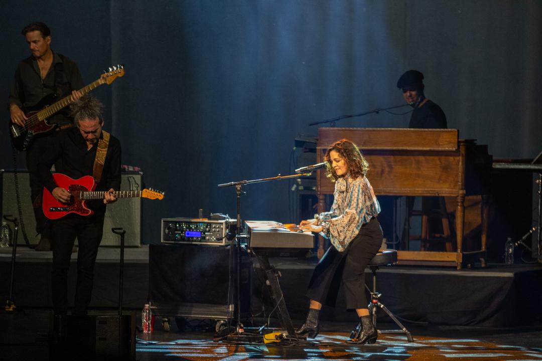 Natalia Lafourcade at the Warner Theatre (Photo by Carolina Correa-Caro)