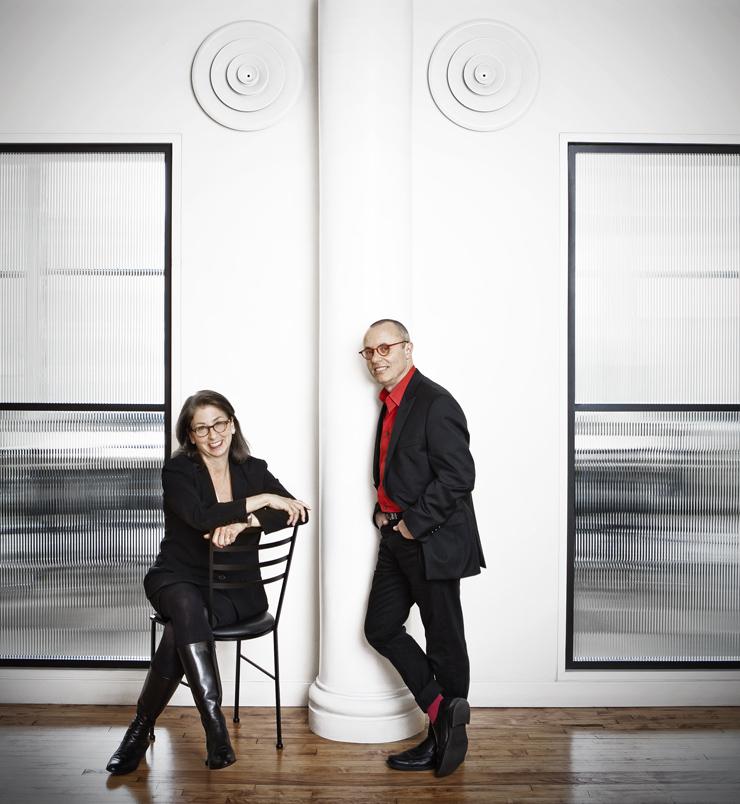 Leslie Smolan and Ken Carbone