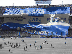 La Bombonera of Boca Juniors