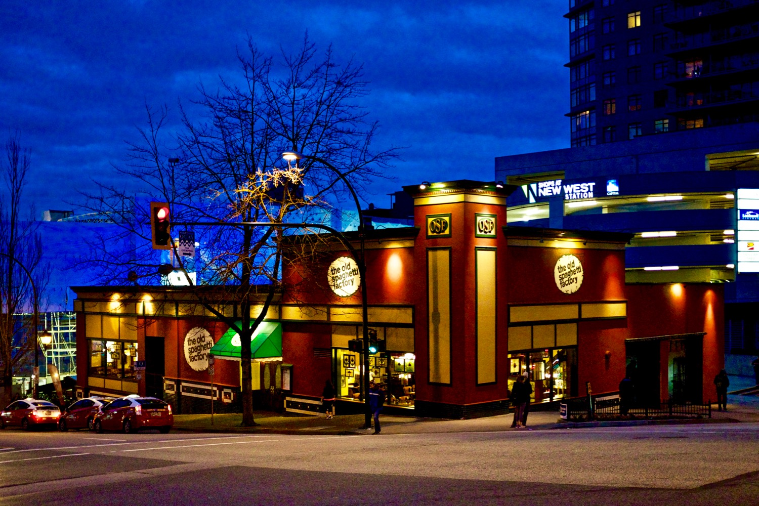 The Old Spaghetti Factory Restaurant - New Westminster  Click image to enlarge.