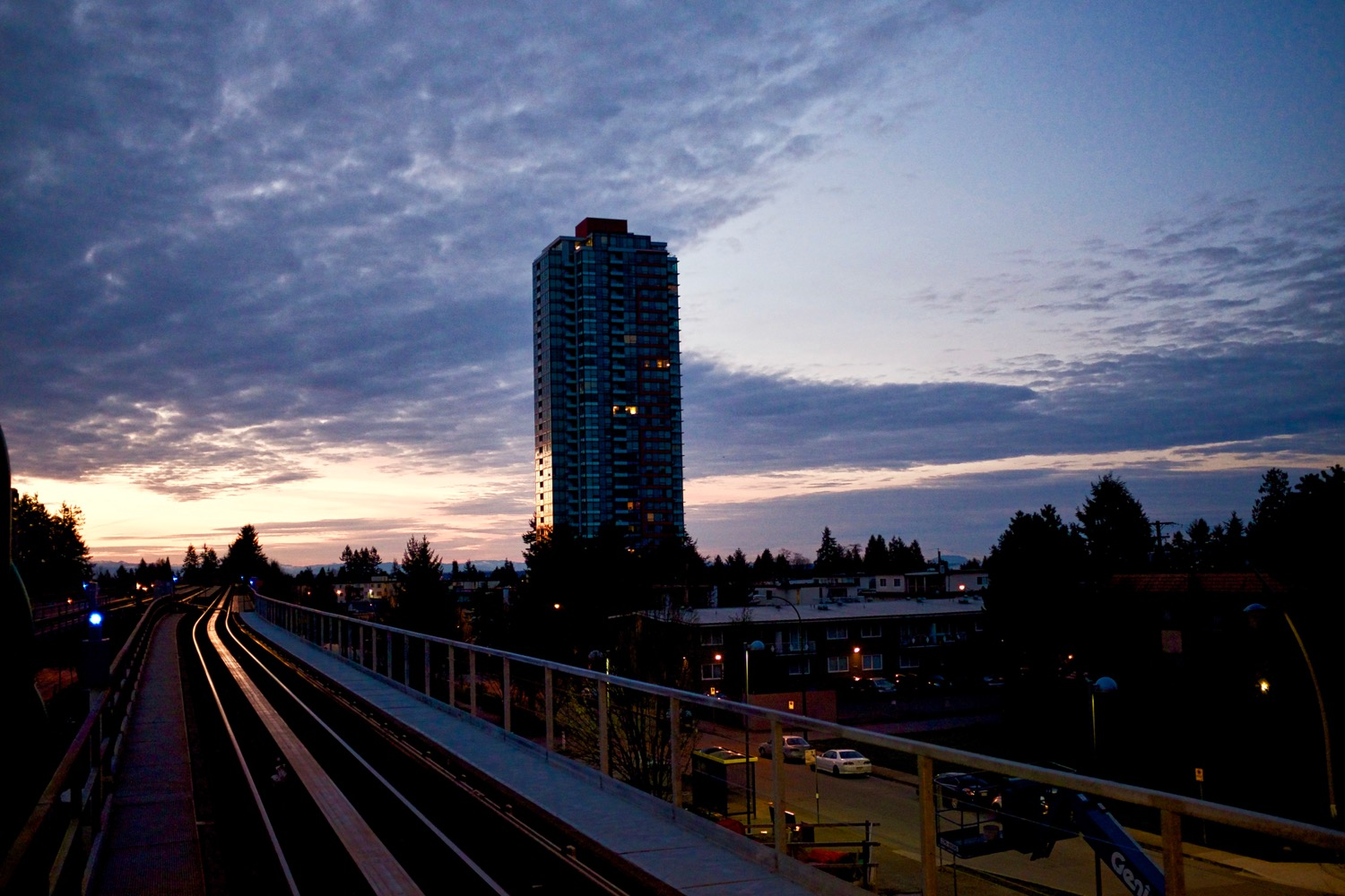 Metrotown Morning - Burnaby, BC  Click image to enlarge.