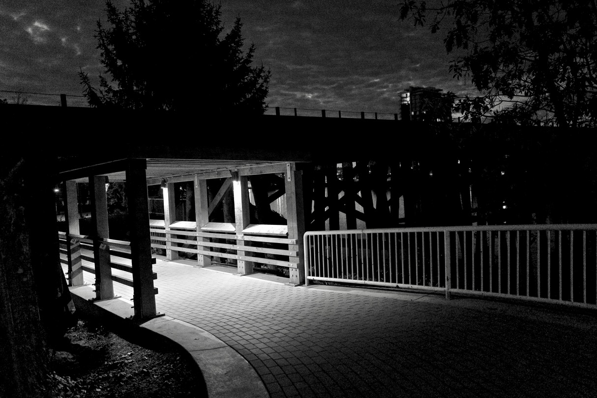 Pedestrian underpass at New Westminster quay.  Click image to enlarge.