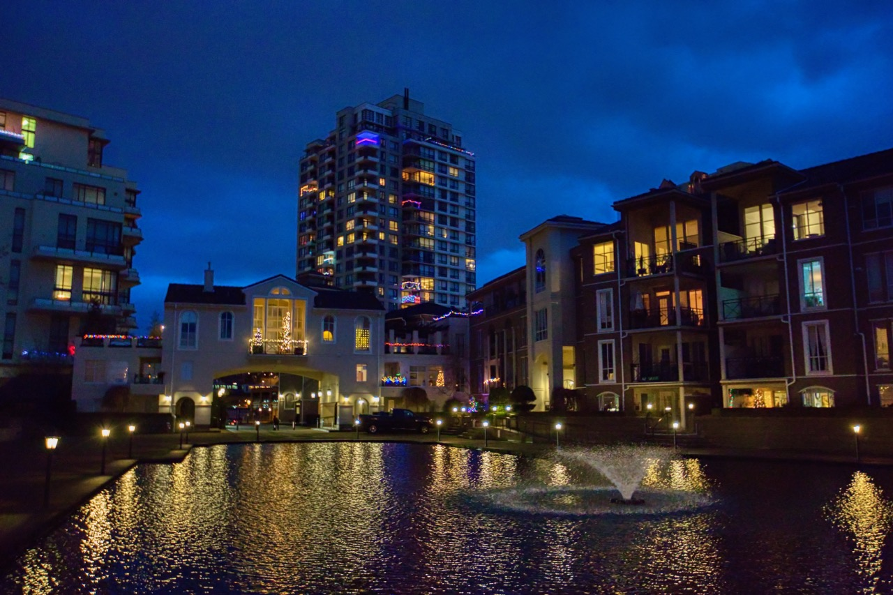 Lagoon at Renaissance Square, New Westminster B.C.