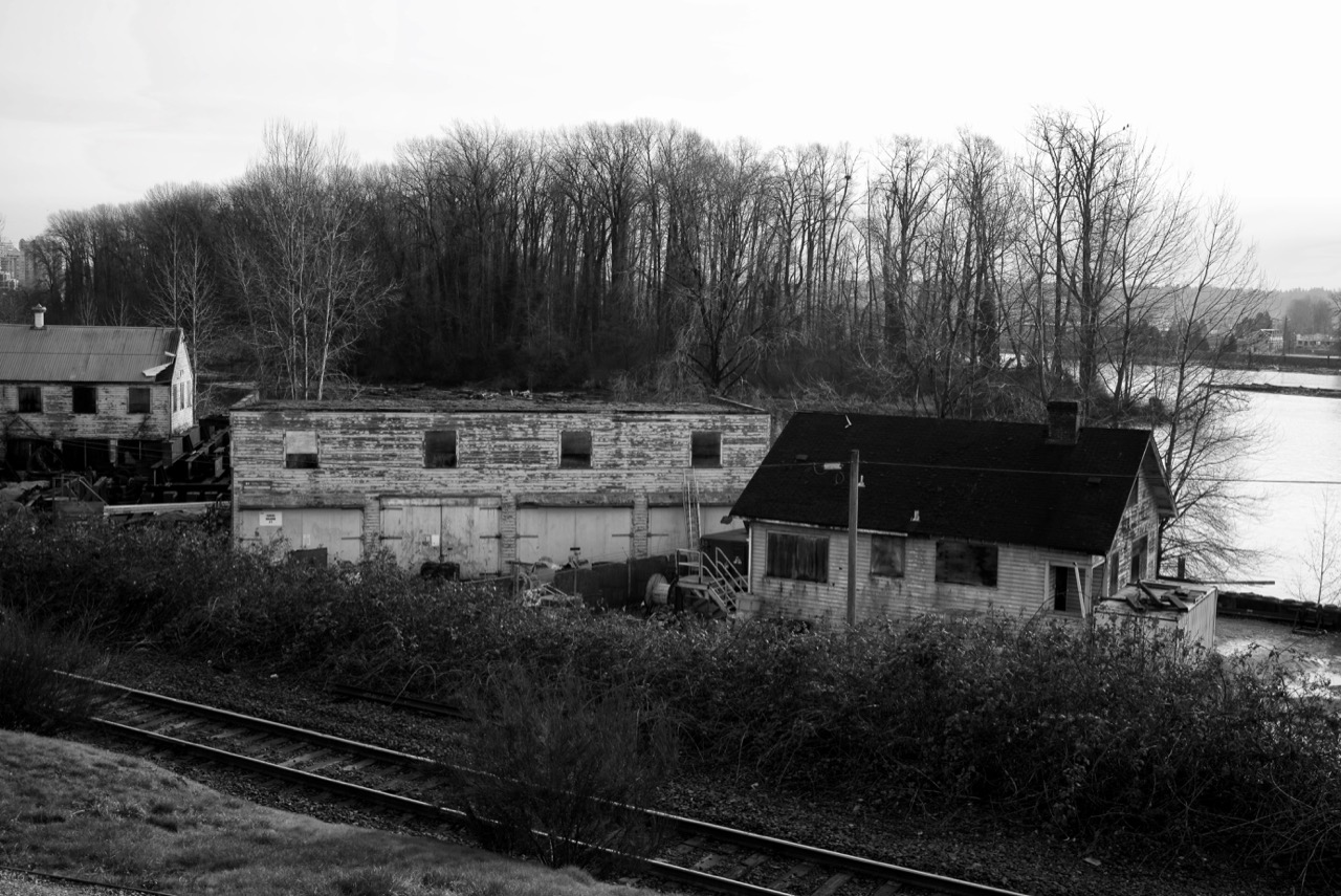 Abandoned Fisheries Buildings, New Westminster B.C.