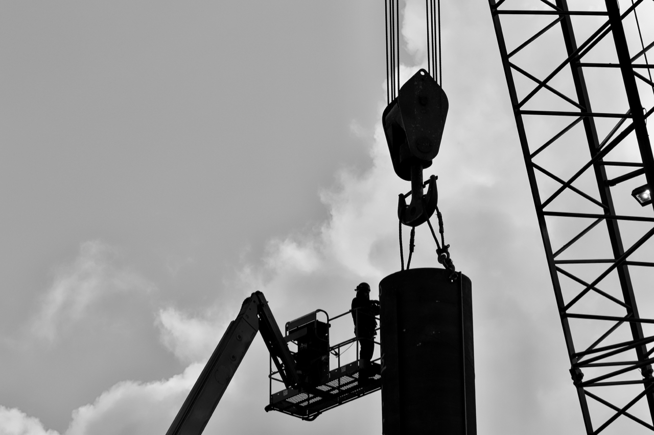 Construction site, New Westminster B.C.