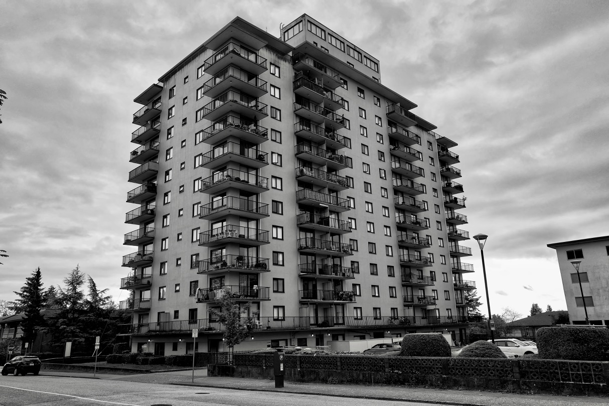 """""""York House"""" apartment building, New Westminster B.C."""