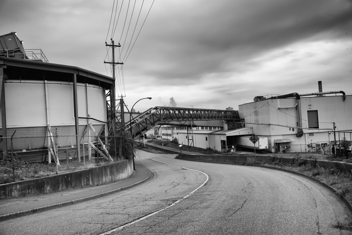 Kruger Products Mill, New Westminster B.C.