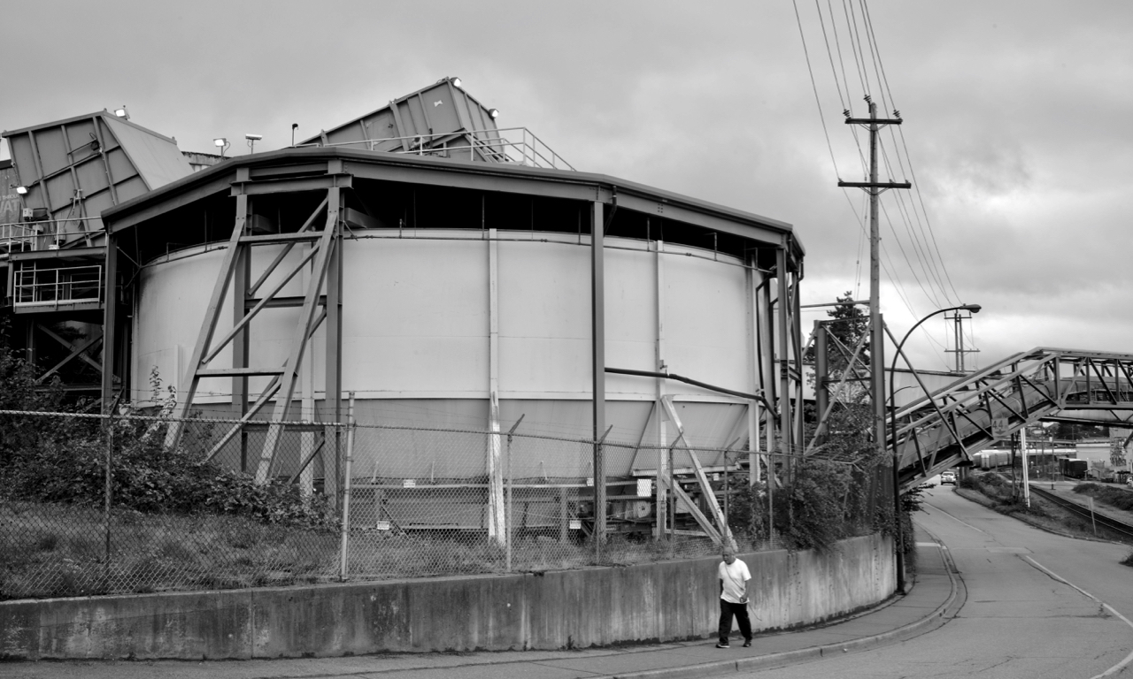 Kruger Products New Westminster Mill, New Westminster B.C.