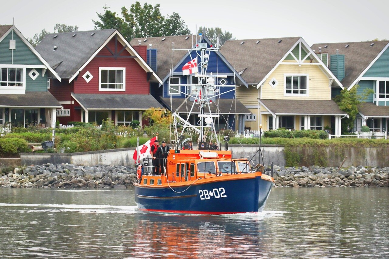 "Canadian Lifeboat Institution ""DELTA LIFEBOAT"" in RiverFest 2019 Lucille Johnstone Workboat Parade"