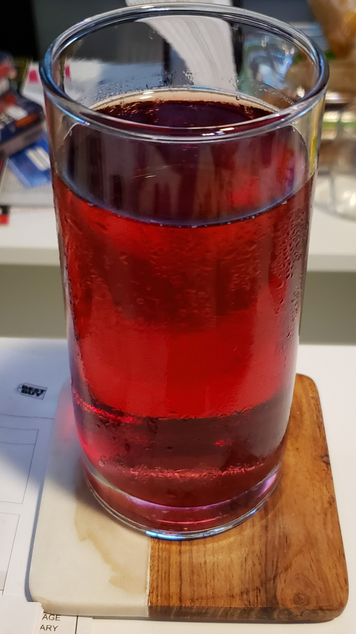 Cranberry diet ginger ale