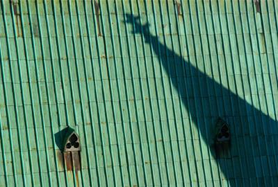 12.Steeple Shadow, Chartres, France.jpg