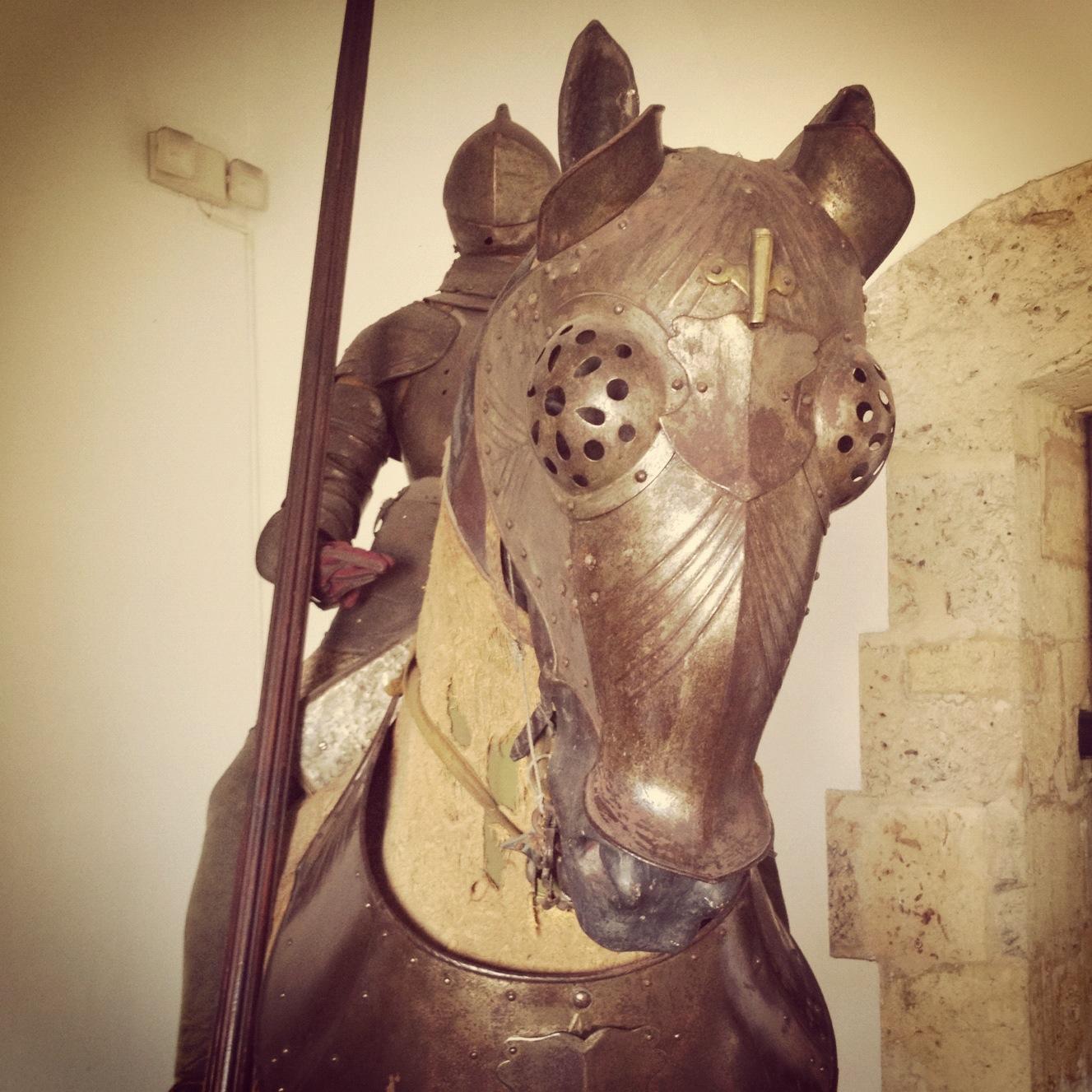 Christopher Columbus' Spanish horse armor