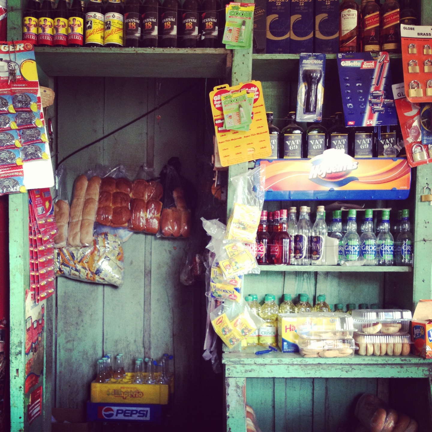 The little store in Guaymate