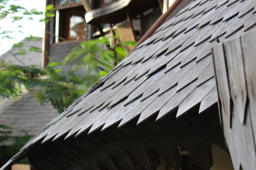 Detail of the roof