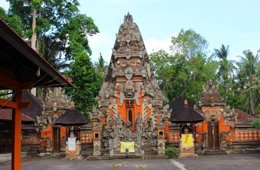 Random temple near Ubud