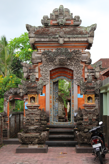 Smallish temple on the roadside