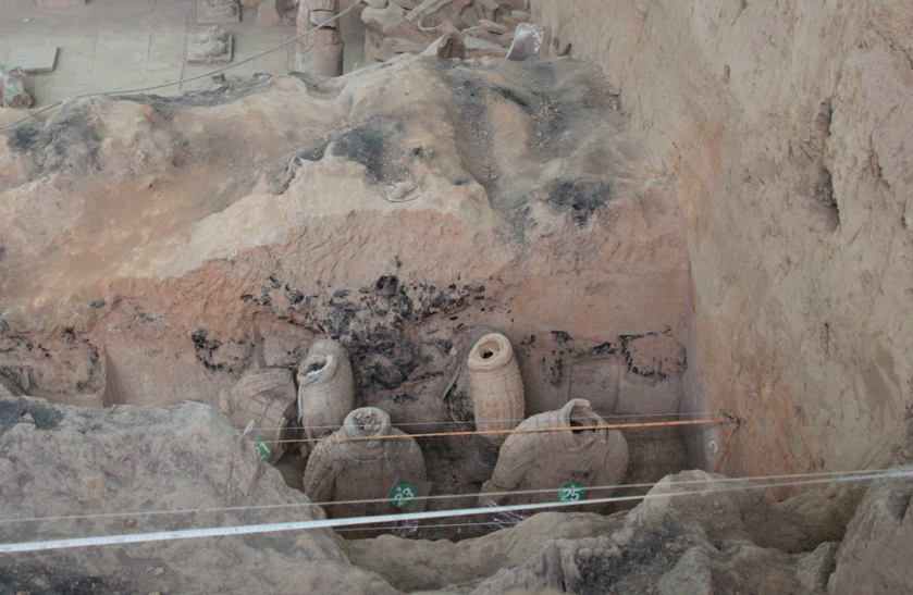 Excavation is slow and steady, even today