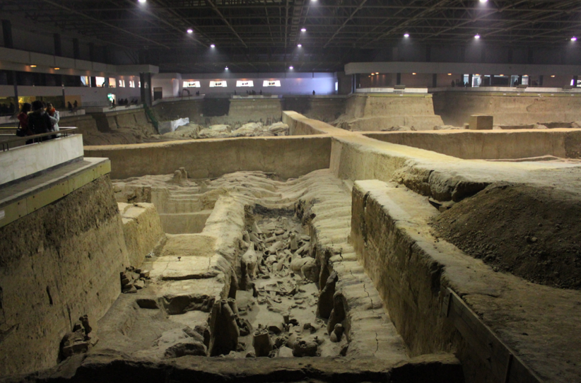 Pit 3, still waiting to be excavated