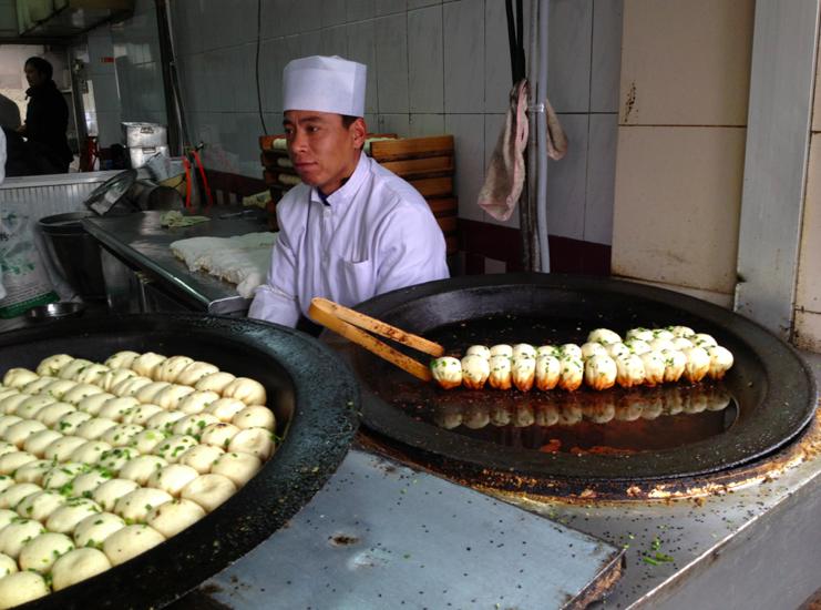 Street food in Shanghai