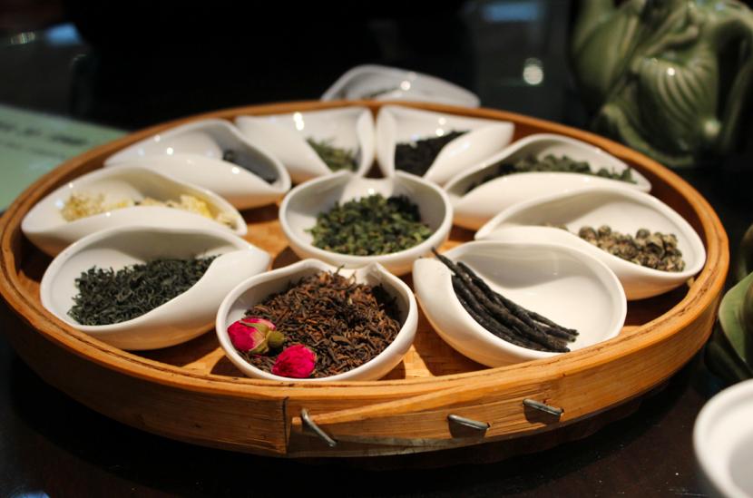 Fresh tea in Xi'an