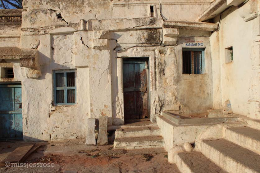 Exploring the grounds of Virupaksha temple, Hampi