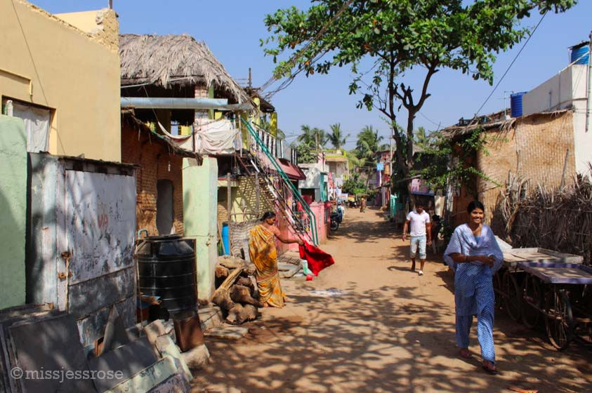 Exploring the streets of Hampi