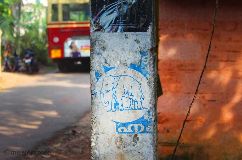 Heading towards the elephant rescure sanctuary