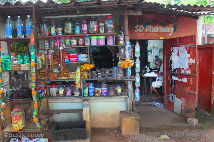 A typical Indian store