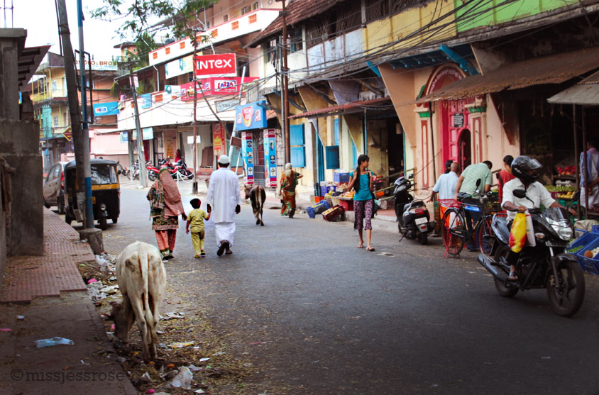 The streets of Fort Kochi