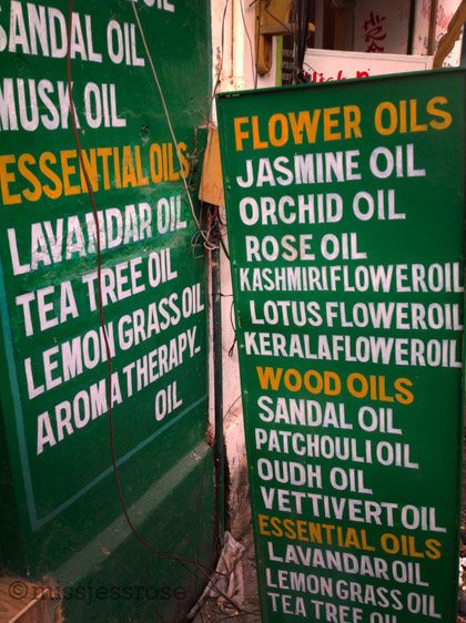 Besides spices, Kerala is also a hub for locally produced oils.