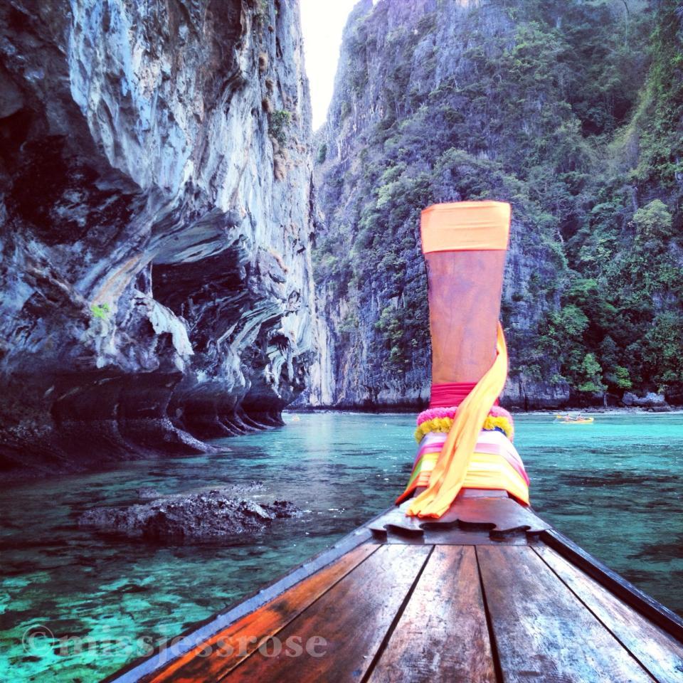 Exploring Koh Phi Phi, Thailand