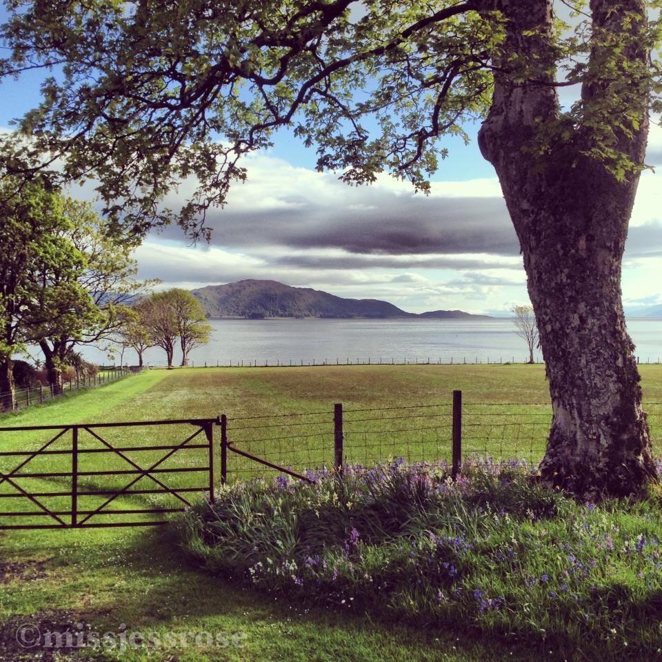 Exploring lochs in Scotland