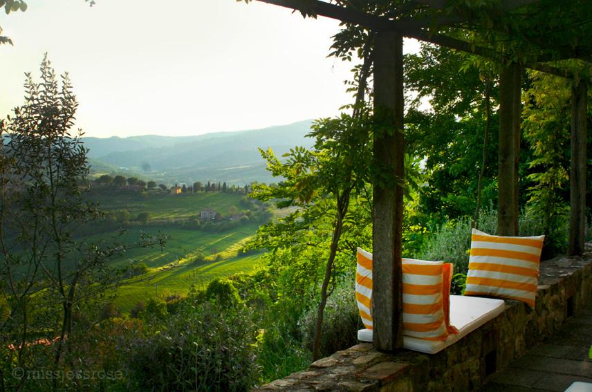 Tuscan sunsets