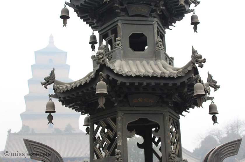 Big Wild Goose Buddhist Pagoda, Xi'an