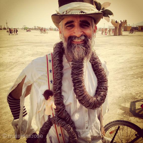 Beard awesomeness! (Steven Raspa)