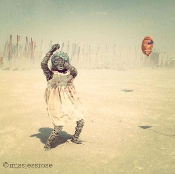 Blown away in a dust storm