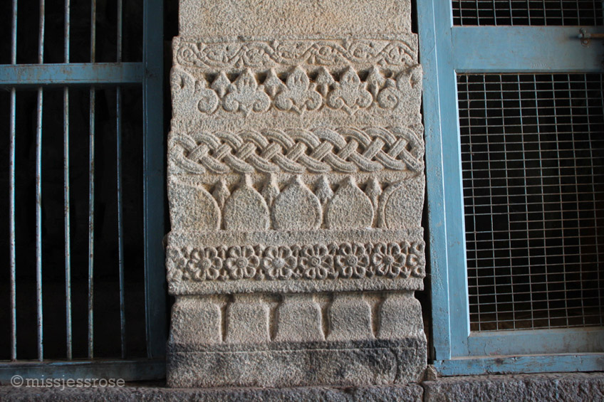 Details inside the temple