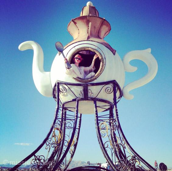 Tea cup art car