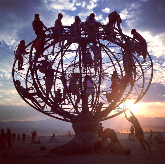 Spinning the world