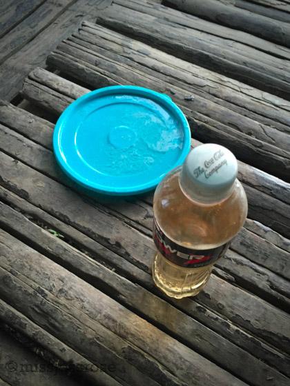 Dispersant in a bottle, toxic bath