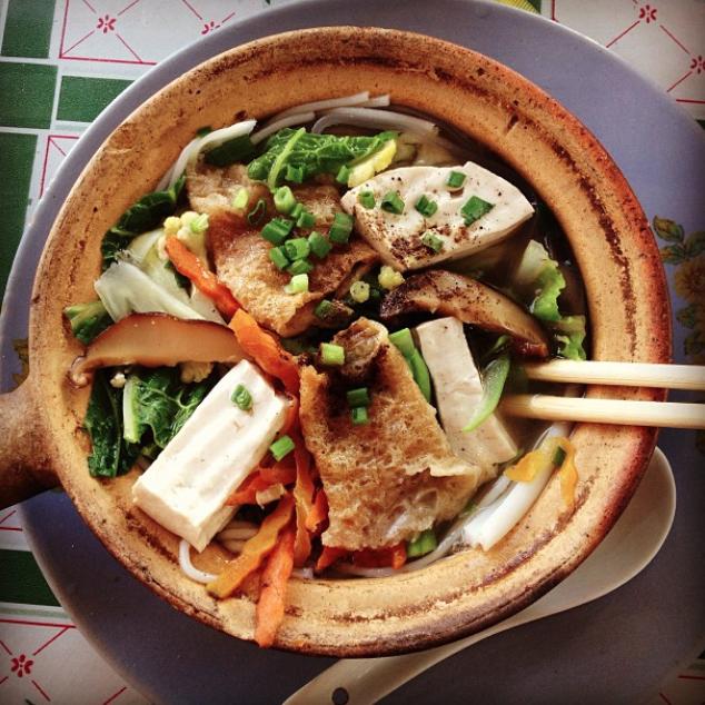 Shan noodle soup, Burma