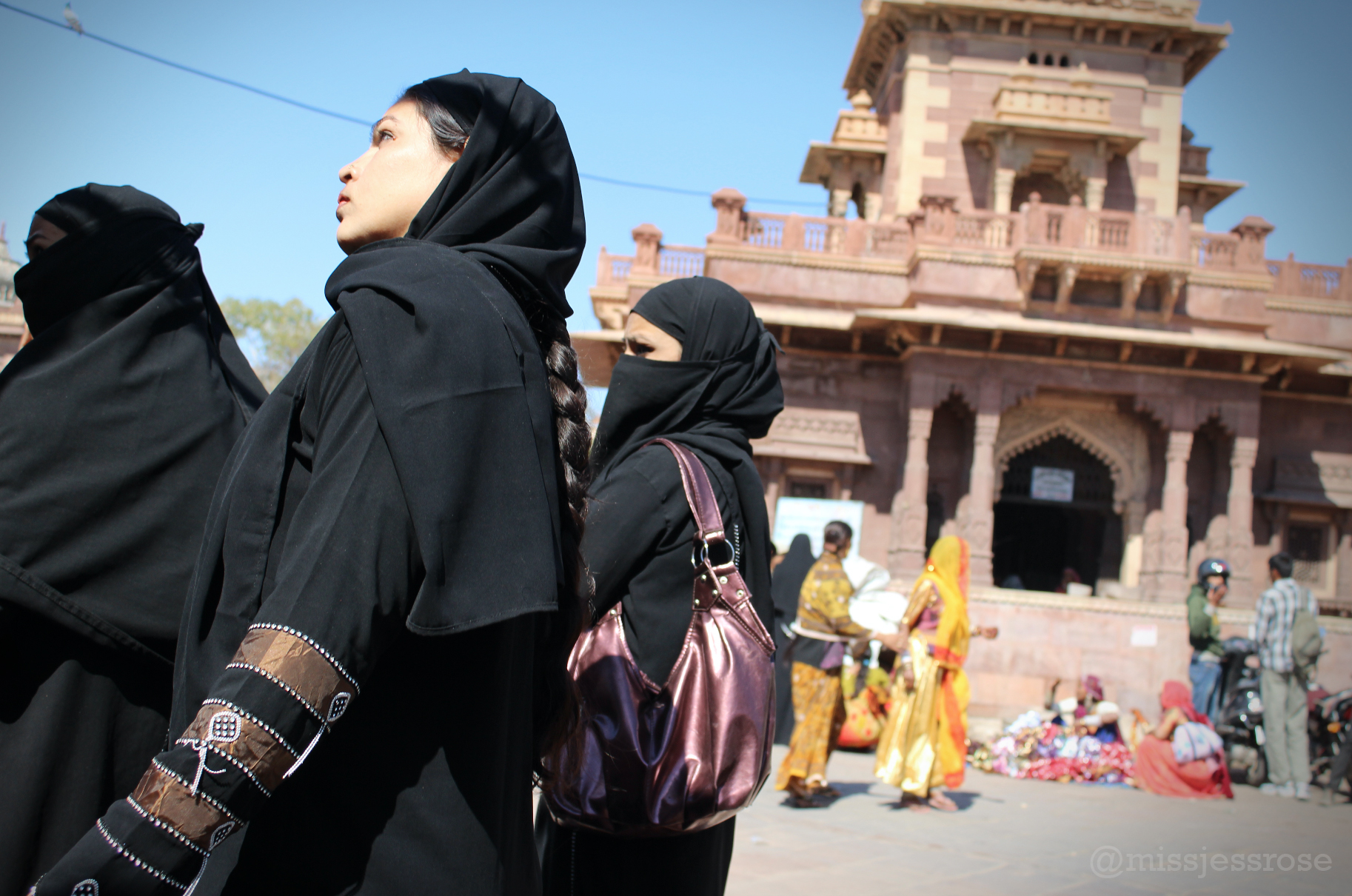 While India as a whole is primarily Hindu, many  Rajasthani Muslims live in Jodhpur.